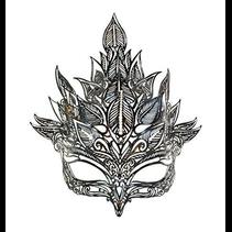 COLOMBA BLACK Metal Mask