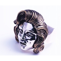 ICON RING IN 925 SILVER