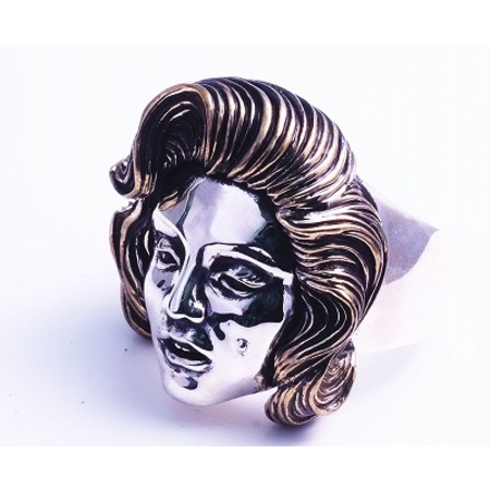 GOOD VIBRATIONS ICON RING IN 925 SILVER