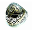 GOOD VIBRATIONS MEXICAN MASK RING WITH GOLD DETAIL