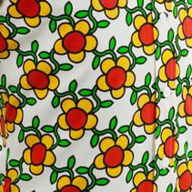 Chenaski Mens Shirt Flower Grid - P-27575
