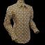 Pete Chenaski Chenaski Mens Shirt Eyeball Circles Black Yellow