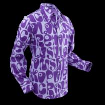 Chenaski Ltd Mens Shirt Moloko Violet