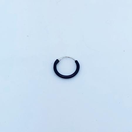SO HIGH SILVER sleeper 68 - 10 mm black annodised hinged silver