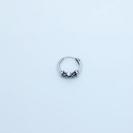 SO HIGH SILVER sleeper 103 - 12 mm silver ball closure 925 silver