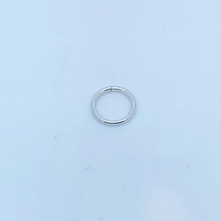 SO HIGH SILVER sleeper 2 - 10 mm silver hidden closure