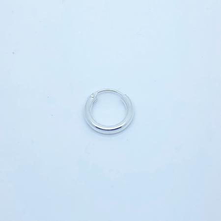 SO HIGH SILVER sleeper 81 - 12 mm hinged silver