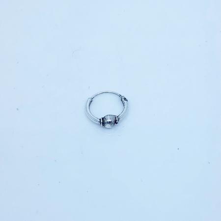 SO HIGH SILVER sleeper 62 - 10 mm  BALL hinged silver SLEEPER
