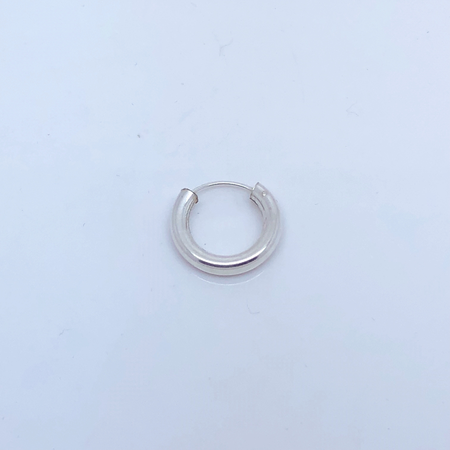 SO HIGH SILVER sleeper 84 - 14 mmx 3mm hinged silver