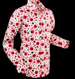 Pete Chenaski Chenaski Mens Shirt Dots & Spots Red