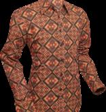 Pete Chenaski Chenaski Shirt Rhombus Dark Brown