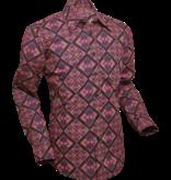 Pete Chenaski Chenaski Shirt Rohombus Black Colourful