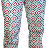 Pete Chenaski Chenaski Flare Trousers Diagonal Square mint.