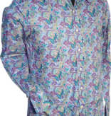 Pete Chenaski Chenaski Mens Shirt Paisley Light Blue