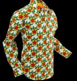 Pete Chenaski Chenaski Mens Shirt Flower Grid - P-27575