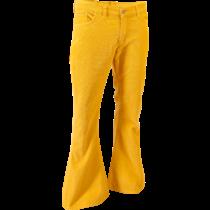 Chenaski Corduroy Mustard Flares