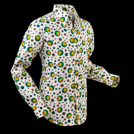 Pete Chenaski Chenaski Mens Shirt Dots & Spots