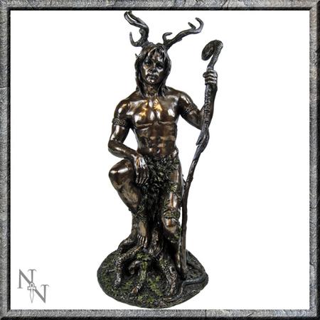 NEMESIS Herne Bronze Statue 27.5cm (P4)