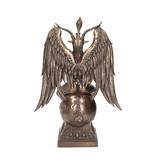 SO HIGH SILVER Baphomet Bronze LARGE 38cm