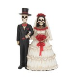 NEMESIS Eternally Yours Day of the Dead Wedding Couple Statue 13cm (P6)