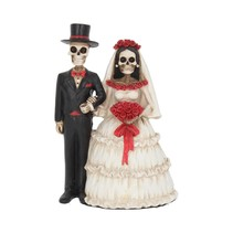 Eternally Yours Day of the Dead Wedding Couple Statue 13cm (P6)