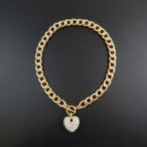 BLING HEART NECKLACE