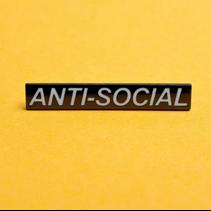ANTI SOCIAL PIN
