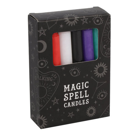 MIXED SPELL CANDLES PACK OF 12