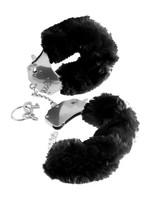 Love cuffs black plush