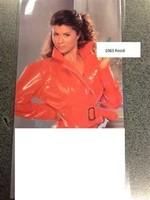 Latente Lak/ Vinyl jacket red