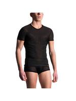 Manstore Mens shirt tee regular black
