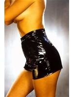 Latente Lak/ Vinyl hotpants black