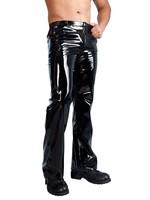 Black Level Lak/ Vinyl trouser black
