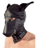 Dog mask O/S