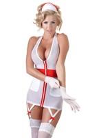 Cotteli Collection Nurse dress nylon