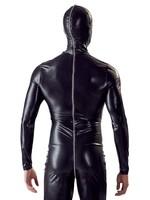 Fetish Collection Mens fullbody suit black