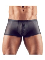 Svenjoyment Mens short with zipper black