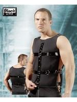Black Level Mens shirt patent black