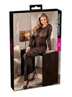 Cotteli Collection Lace catsuit black