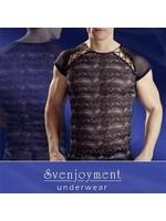 Svenjoyment Mens shirt reptile black