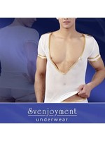 Svenjoyment Mens shirt major white