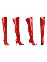 H.G. Leathers Dijlaars lak rood
