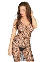 Leg Avenue Dress net bodycon black OneSize
