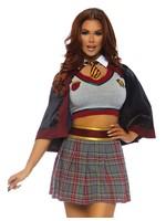 Leg Avenue Schoolgirl set with cape