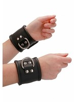 Pain by Shots Restraint hand cuff with padlock black