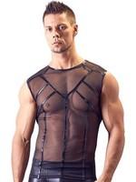 Svenjoyment Mens powernet shirt black