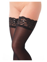 Amorable Hold-up stockings black