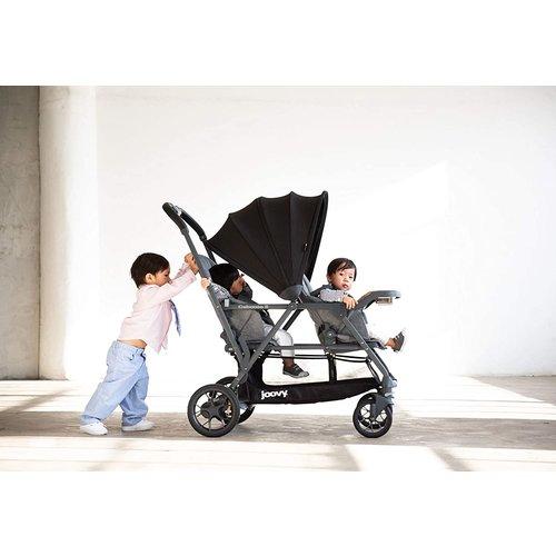 JOOVY Joovy Caboose S Kinderwagen - Duo kinderwagen - Zwart