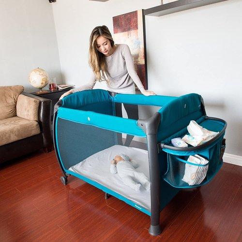 JOOVY Joovy Room Luxe campingbedje + Verzorgplek