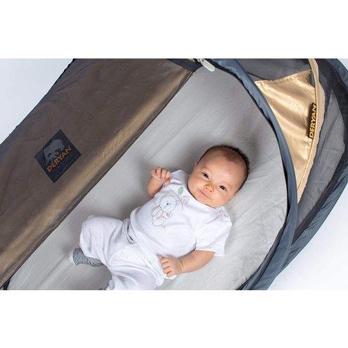 DERYAN DERYAN Baby Luxe Campingbedje Gold - 2021